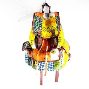 Mossimo Supply Co. Boho Pattern Cloth Backpack